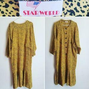 Vintage Star World Dress